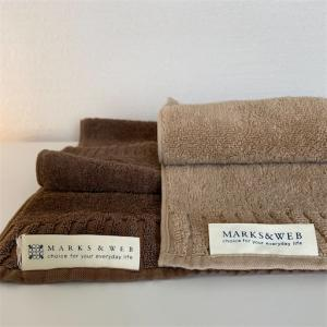 【MARK&WEB】新品のタオルを買ったので5年前から使っているタオルと比べて良さを語る