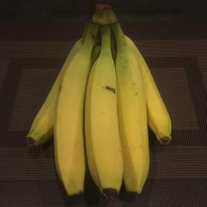 夜はバナナのみ
