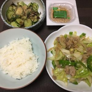 簡単おいしい!肉野菜炒め
