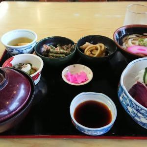 庄寿庵の「鰹のタタキ定食」