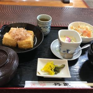 レストラン鶴亀の「揚げ出し豆腐のサービスランチ」