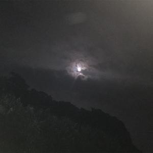 今日は満月    Sturgeon Moon  チョウザメ月?!