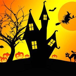 明日はハロウィンで満月