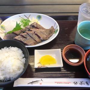 道の駅 「なぶら土佐佐賀」フードコートで明神水産のたたき定食 Go To Eat キャンペーンの食事券使ってみた