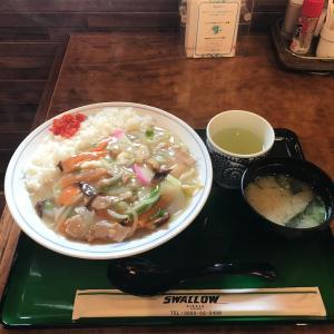 スワロー会館の「中華丼」
