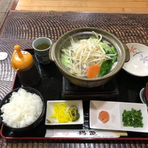 「レストラン 鶴亀」の 冬限定夜のサービスセット
