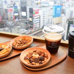 【渋谷のオアシス】TSUTAYA share lounge @渋谷スクランブルスクエア