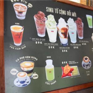 【カフェ天国】ベトナム食旅@ホーチミン 飲み物編(お洒落カフェ、ベトナムコーヒー)