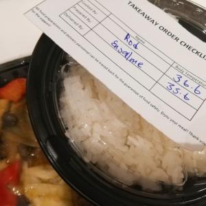 デリバリーご飯と届いた意外な物〜マレーシア