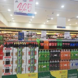 ノンアルコールビール半額!&リンツのチョコレート♪〜マレーシア・クアラルンプール