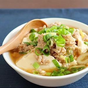 レンジで豆腐のすき焼き風煮込み&ピンチを感じる