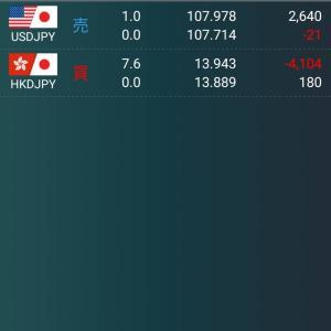 順風満帆ドル香港ドル戦略