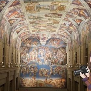 今日はミケランジェロの誕生日なので、大塚国際美術館のすばらしさを伝えたい