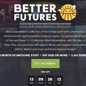 『HUMBLE BETTER FUTURES BUNDLE』バンドル評価:1ドル帯に良作揃い