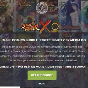 「HUMBLE COMICS BUNDLE: STREET FIGHTER BY MEDIA DO」ー「ストリートファイター」「ヴァンパイア」などカプコンゲームのアメコミバンドル【バンドル評価】