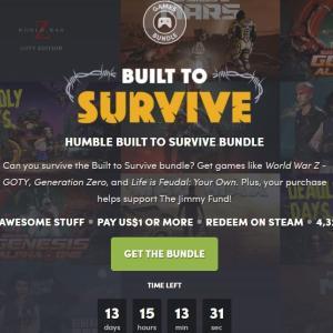 「HUMBLE BUILT TO SURVIVE BUNDLE」レビューと評価・感想ーサバイバルゲーム