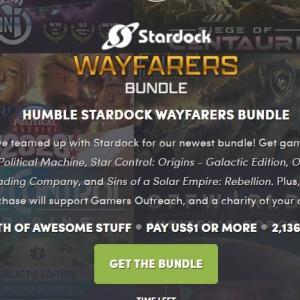 「HUMBLE STARDOCK WAYFARERS BUNDLE」レビュー・評価・感想ーシミュレーションゲーム中心のバンドル