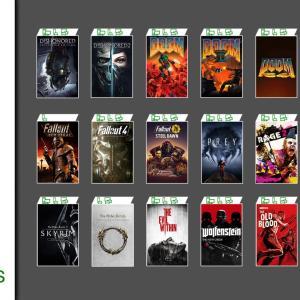 「Xbox Game Pass」にベセスダゲーム追加!『DOOM』『スカイリム』など