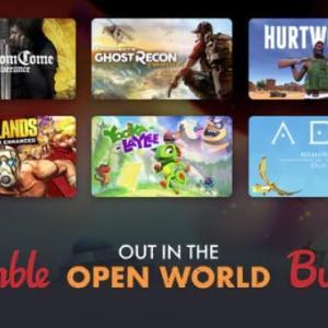 「OUT IN THE OPEN WORLD」バンドルのレビューと評価ーオープンワールドバンドル【Humble Bundle】
