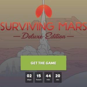 『Surviving Mars: Digital Deluxe Edition』無料配布!レビューと評価【Humbleストア】