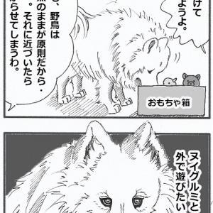 ウォルフィー絵日記「猟犬ウォルフィー」