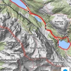 ハイキング Gosausee ハルシュタット近辺