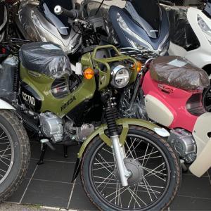人生初のバイク、HONDAクロスカブを買っちゃいました