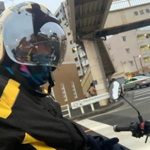 バイクで東京ビッグサイトに行ったら、マジ死ぬか思った!