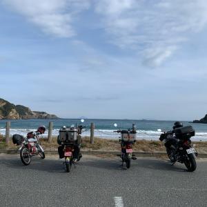 日帰りで伊豆半島ツーリング、往復400Kmの旅!