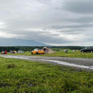 【キャンプ飯】キャンプ場でコーヒーとバームクーヘンで朝を迎えました