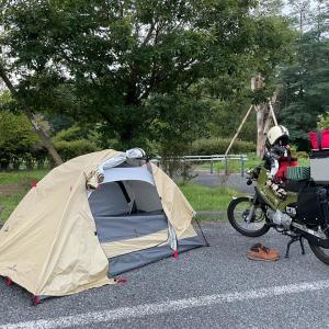 コロナの時期、バイク日本一周、みんなどこで寝ているの?