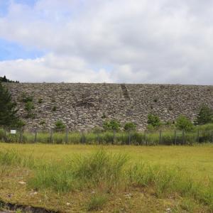 大田第五ダム【兵庫県】5基の堤体のあるダム⑤