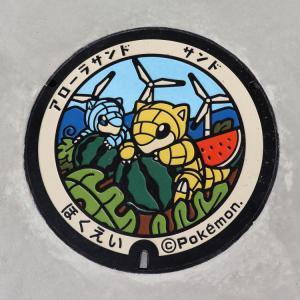 ポケふた【鳥取県編②】マンホール