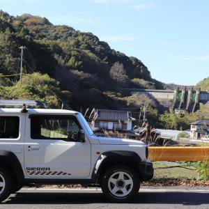 黒杭川ダム【山口県】上流ダムと二段構えになって守るダム