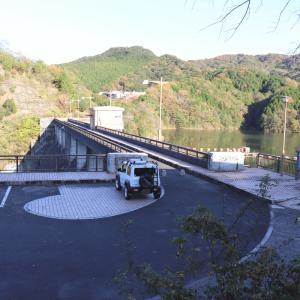 中山川ダム【山口県】水上スポーツなどにも利用