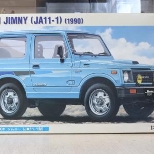 初めて乗ったジムニーはJA11