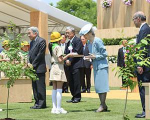 全国植樹祭が6/2に開催  天皇が尾張旭市に