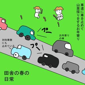 田舎の渋滞事情⑤完 山菜がおいしい時期の渋滞
