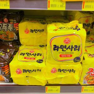韓国で焼きそばが食べたくなったら…