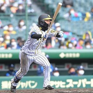 阪神タイガース、近本光司 .311(456-142)9本21盗塁ops.801←300キープしそう