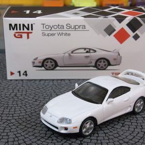 MINI GT 1/64 トヨタ スープラ(JZA80) スーパーホワイト(左ハンドル)