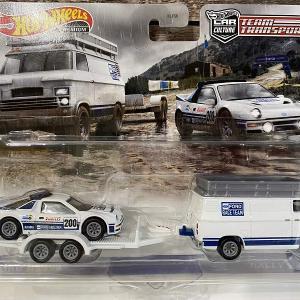 ホットウィール チームトランスポート フォードRS200/ラリー・バン