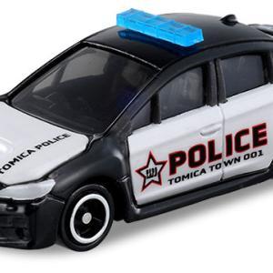 【新製品情報】トミカショップオリジナル スバル WRX S4 海外パトロールカー仕様