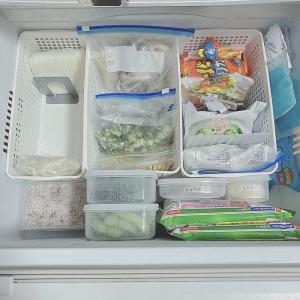 冷凍室収納・後編 冷凍庫で使っているお気に入りのおすすめタッパー2選。【冷蔵庫の片付け-7】
