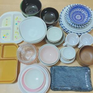 【断捨離】食器の数の見直し!3人家族の食器の数はいくつ?ー食器全出し祭りー