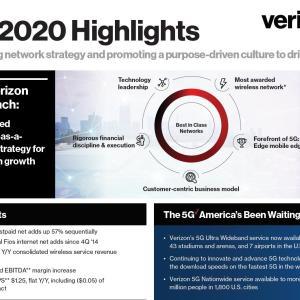 【VZ20Q3】マークス、ベライゾン・コミュニケーションズ(VZ)の2020年第3四半期決算を確認する。