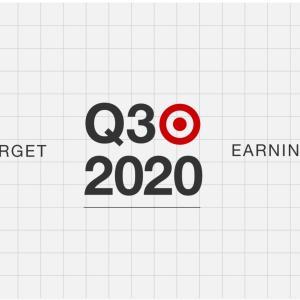 【TGT20Q3】マークス、ターゲット(TGT)の2020年第3四半期決算を確認する。