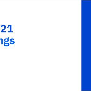【IBM21Q1】マークス、インターナショナル・ビジネスマシーンズ(IBM)の2021年第1四半期決算を確認する。