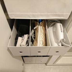 無印とイケアのアイテムで棚を引出しにして収納力UP&使いやすく!洗面所の収納公開