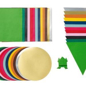 【IKEA】イケアの折り紙セットが素敵♪子供の工作からインテリアまで色々使えます!